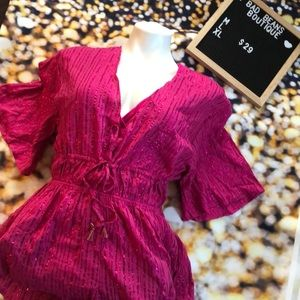 Victoria's Secret Romper & Beach Cover